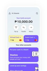 Tonik launches  as  first  neobank  in PH