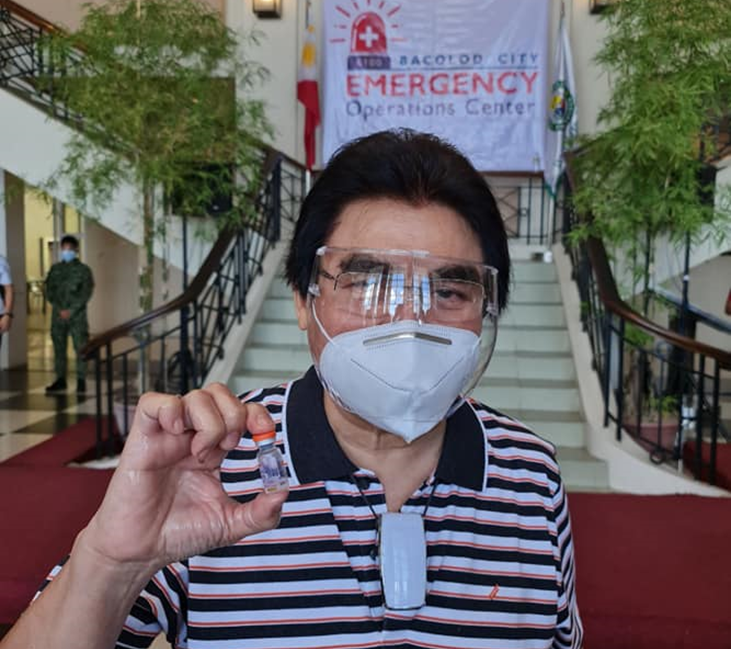 Bacolod opens vaccination vs COVID to general population
