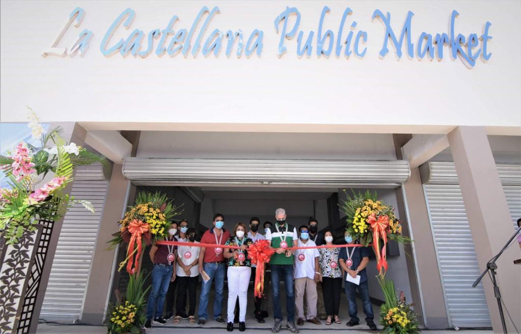 Gov inaugurates new infra in La Castellana town