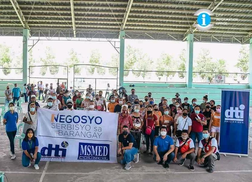 DTI holds 'Negosyo Serbisyo sa Barangay' in San Carlos